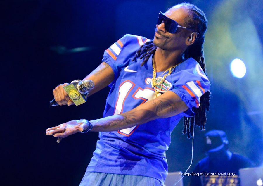 Snoop Dog performed at the 2017 Gator Growl