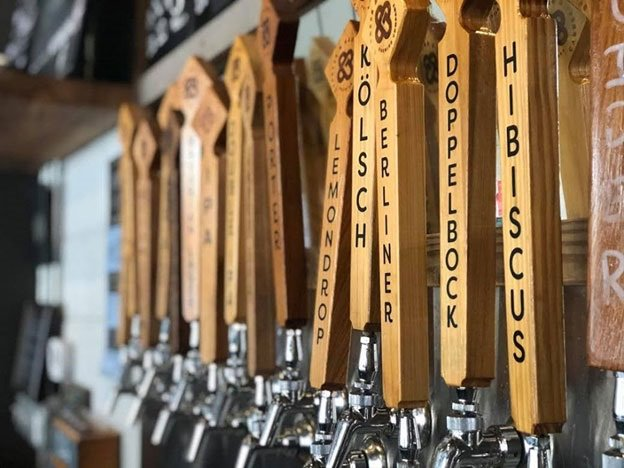 Taps at Cypress & Grove Brewing Company